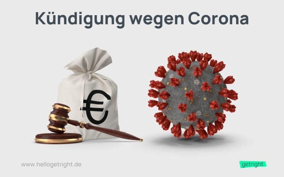 Kündigung wegen Corona – Dein Recht auf eine Abfindung
