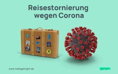 Reisestornierung wegen Corona-Pandemie